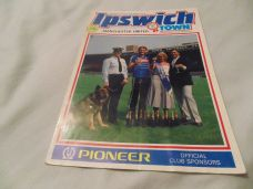 Ipswich Town v Manchester United, 1984/85